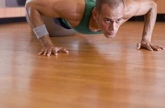 Find ways to increase the difficulty of your push-ups and pull-ups.