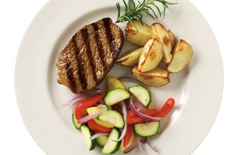 Choose lean meats and cook using heart-healthy fats.