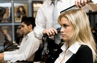 Hair stylists can give you an attractive new appearance in an hour or less.