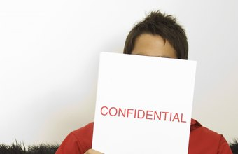 Proprietary documents are confidential papers that companies strive to keep private.