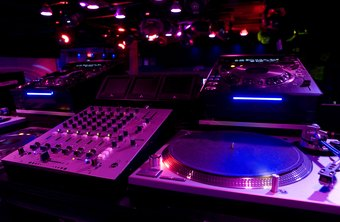DJs can find work in several kinds of environments, the most well-known being radio studios.