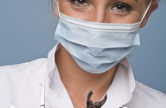 Dentists wear face masks to protect patients and themselves.
