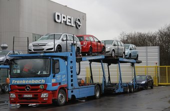 Automotive transports can be a striking sight on the road as they move cars from one location to another.