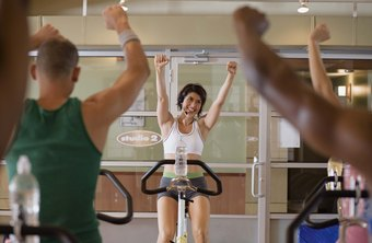 Keeping participants motivated is a sign you're a good cycling instructor.