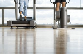 The treadmill and elliptical trainer provide effective fat-burning workouts.