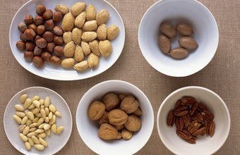 Nuts don't usually cause weight gain when eaten in moderation.