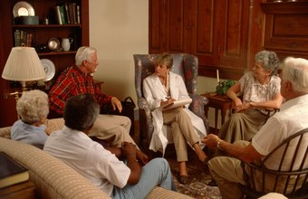 A clinical social worker may lead group therapy.