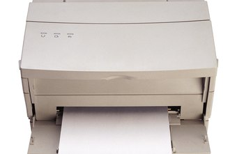 Older laser printers may have parallel printer interfaces that require adapters.