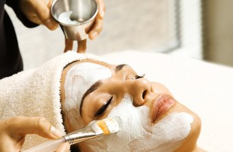 Estheticians offer facial treatments at spa facilities.