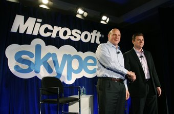 Skype offers a Windows 8 app and desktop version.