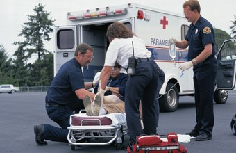 An EMS coordinator might function both as administrator and crew member.