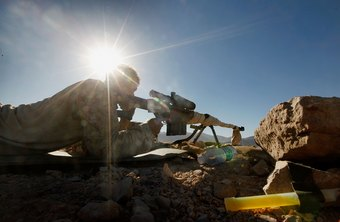 Military snipers boast deadly accuracy at considerable range.
