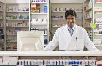 Pharmacists manage an inventory of prescription medications
