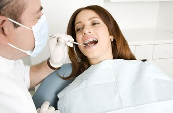 Technical skills needed for dentists include using dental tools to care for patients.