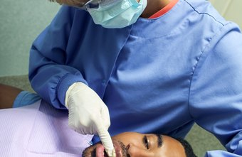 Dental hygienists perform basic cleanings.