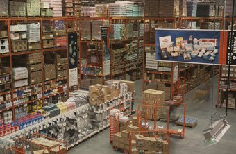 Receiving managers control what comes in and out of warehouses.