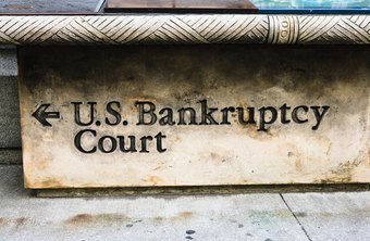 A company's shares become worthless in bankruptcy.