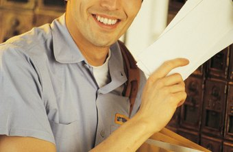 Mail carriers deliver mail to homes and businesses.