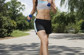 Brisk walking helps to burn fat all over the body.