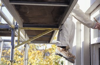 Painters may fall off of scaffolding and file a claim against their employer.