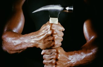 Strong forearms ease manual labor.