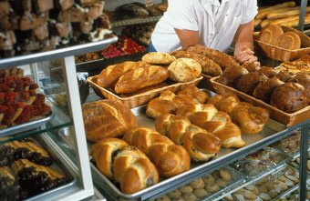 Bakers are trained to turn out baked goods in quantity.