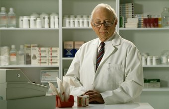 Pharmacists help the public by working to develop and dispense medications.