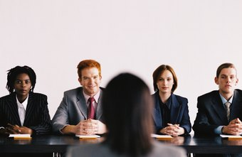 Group interviews can be very intimidating if you aren't prepared.