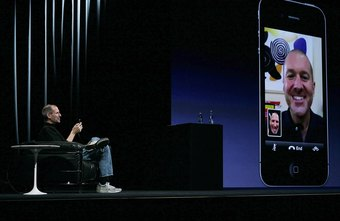 FaceTime supports video chatting on iOS devices.