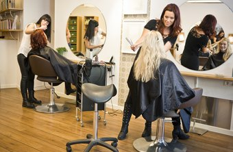 Beauty salon sales representatives have extensive knowledge of cosmetology.