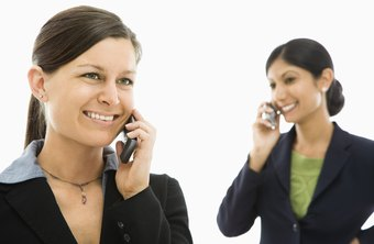 Separating business and personal cell phones provides convenience and reduces confusion.