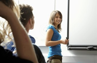 The content displayed on smartboards can be controlled by apps that run on iPhones and Android smartphones.