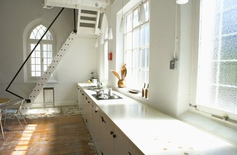 Concrete countertops are durable and attractive.