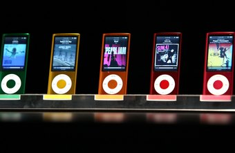 The iPod nano has video playback capabilities.