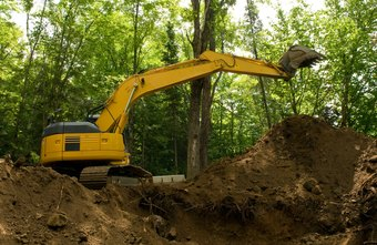 Excavators are used primarily for digging.
