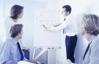 Training coordinators instruct employees in different environments, including in offices and conferences.
