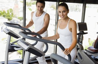 Let go of the handles to burn more calories on the elliptical.