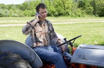 Farm hands need to know how to work agricultural machinery.