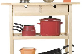 Find ways to neatly display your housewares items.