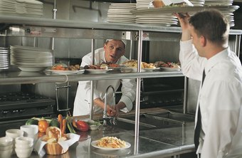 A Dining Room Manager Ensures Staff Is Present And On Task