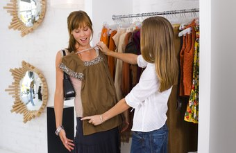 Fashion stylists must know what colors and patterns look good on each of their clients.