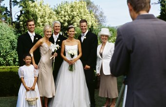 Certified professional photographers are in demand as wedding photographers.