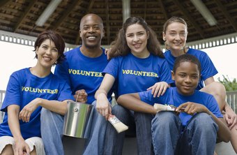 Fundraising is one way teens can volunteer for a good cause.