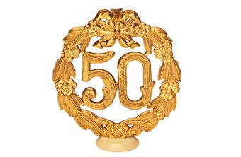 The 50th anniversary is a milestone for your business and a great marketing opportunity.