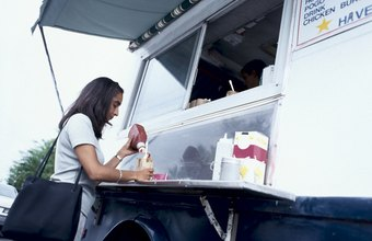 Food truck drivers bring their cuisines to customers.