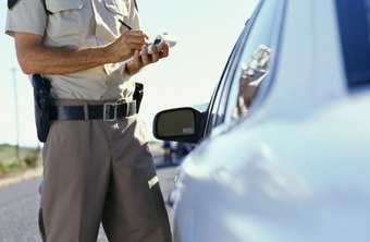Traffic stops may take up a good part of a police officer's time.