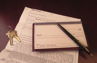 The lease and state laws regulate the retaining of security deposit money.