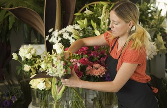 Florists usually receive on-the-job training.