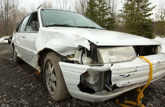 Salvage titles are issued for cars that have been extensively damaged.