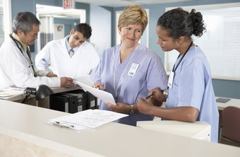 The medical billing specialist reviews charts to ensure all charges are submitted.